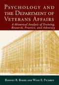 Psychology and the Department of Veterans Affairs