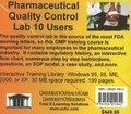 Pharmaceutical Quality Control Lab, 10 Users