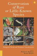 Conservation of Rare or Little-Known Species