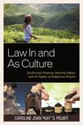 Law In and As Culture