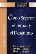 Como Superar El Temor y El Desanimo / Overcoming Fear and Discouragement (Niss Series)