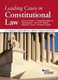 Leading Cases in Constitutional Law