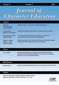 Journal of Character Education Volume 11 Number 2 2015