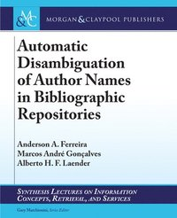 Automatic Disambiguation of Author Names in Bibliographic Repositories