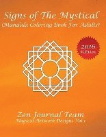 Signs Of The Mystical Mandala Coloring Book For Adults Av Zen Journal Team Haftad