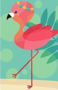 Internet Password Organizer: Aloha Flamingo (Password Journal), 120 Pages with Username and Password, Lined, No Lined, Sketchbook Size 5.5x8.5