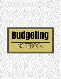 budgeting notebook vintage classic design with calendar 2018 2019