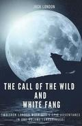 The Call of the Wild and White Fang: Two Jack London Wolf Dog's Epic Adventures in one Volume (unabridged)