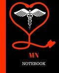 MN Notebook: Master of Nursing Notebook Gift - 120 Pages Ruled With Personalized Cover