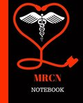 MRCN Notebook: Member, Royal College of Nursing Notebook Gift - 120 Pages Ruled With Personalized Cover