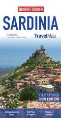 Insight Guides Travel Map Sardinia
