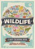 Wildlife: A Map Colouring Book