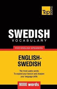 Swedish vocabulary for English speakers - 9000 words