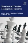 Handbook of Conflict Management Research