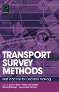 Transport Survey Methods