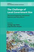 The Challenge of Local Government Size