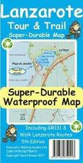 Lanzarote Tour &; Trail Super-Durable Map