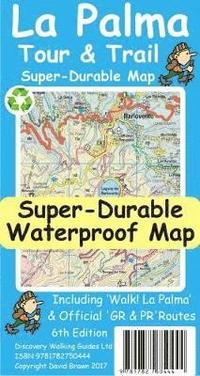 La Palma Tour &; Trail Super-Durable Map