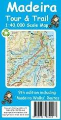 Madeira Tour &; Trail Paper Map