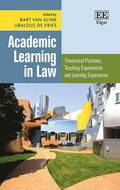 Academic Learning in Law