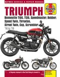Triumph Bonneville T100, T120, Speedmaster, Bobber, Speed Twin, Thruxton, Street Twin, Cup, Scrambler (16 to 19)