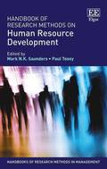 Handbook of Research Methods on Human Resource Development