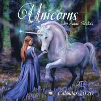 Unicorns by Anne Stokes Wall Calendar 2020 (Art Calendar)