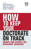 How to Keep your Doctorate on Track