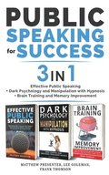 PUBLIC SPEAKING FOR SUCCESS - 3 in 1