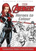 Marvel Avengers: Heroes to Colour