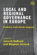 Local and Regional Governance in Europe