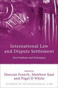 International Law and Dispute Settlement
