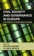 Civil Society and Governance in Europe