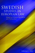 Swedish Studies in European Law - Volume 2