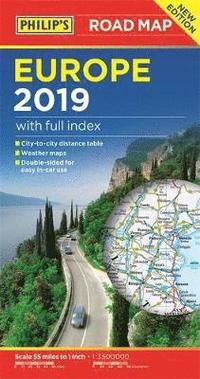 Philip's Europe Road Map