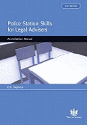 Police Station Skills For Legal Advisers