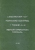 Land Rover Military 101 1 Tonne Workshop Manual