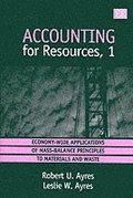 accounting for resources, 1