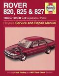Rover 800 Series Service and Repair Manual
