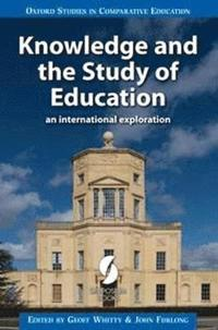 Knowledge and the Study of Education: An International Exploration