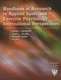 Handbook of Research in Applied Sport &; Exercise Psychology