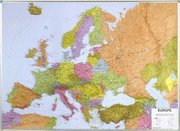Europe Politcal laminated