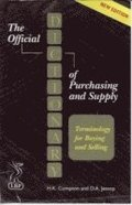 Official Dictionary Of Purchasing And Supply