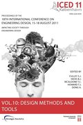 Proceedings of ICED11: Vol. 10 Design Methods and Tools Part 2