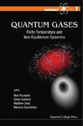 Quantum Gases: Finite Temperature And Non-equilibrium Dynamics