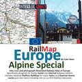 Rail Map Europe - Alpine Special