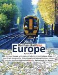 Railpass Railmap Europe 2019