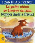 Le petit chien se trouve un ami / Puppy finds a friend