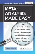Meta-Analysis Made Easy: How to Draw Definitive Conclusions from Inconclusive Studies and Find Untapped Opportunities for Further Research!