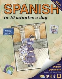 SPANISH in 10 minutes a day (R)